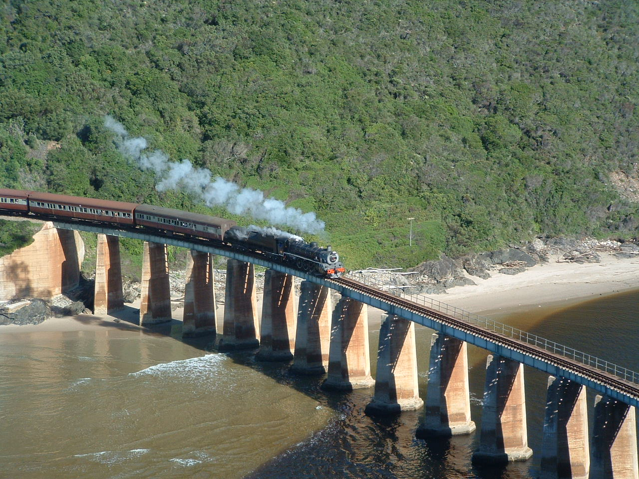 Rovos Rail Pretoria to Durban