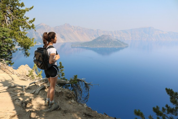 Hike the Crater Lake area
