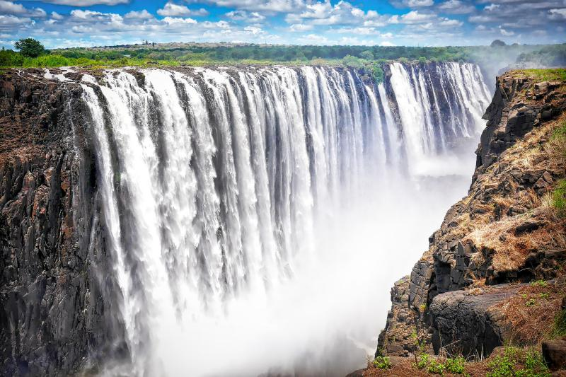 En-routing the Victoria Falls