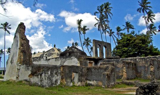 The ruins at Zanzibar