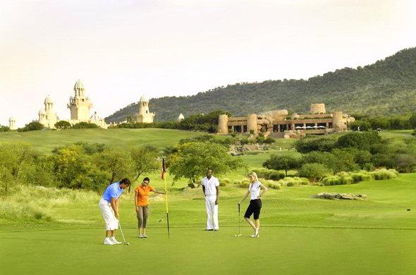Golfing tour at Sun City