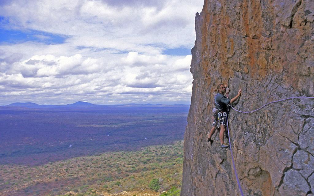 Rock Climbing at Tsavo