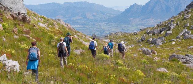 Hiking the Stellenbosch nature reserve