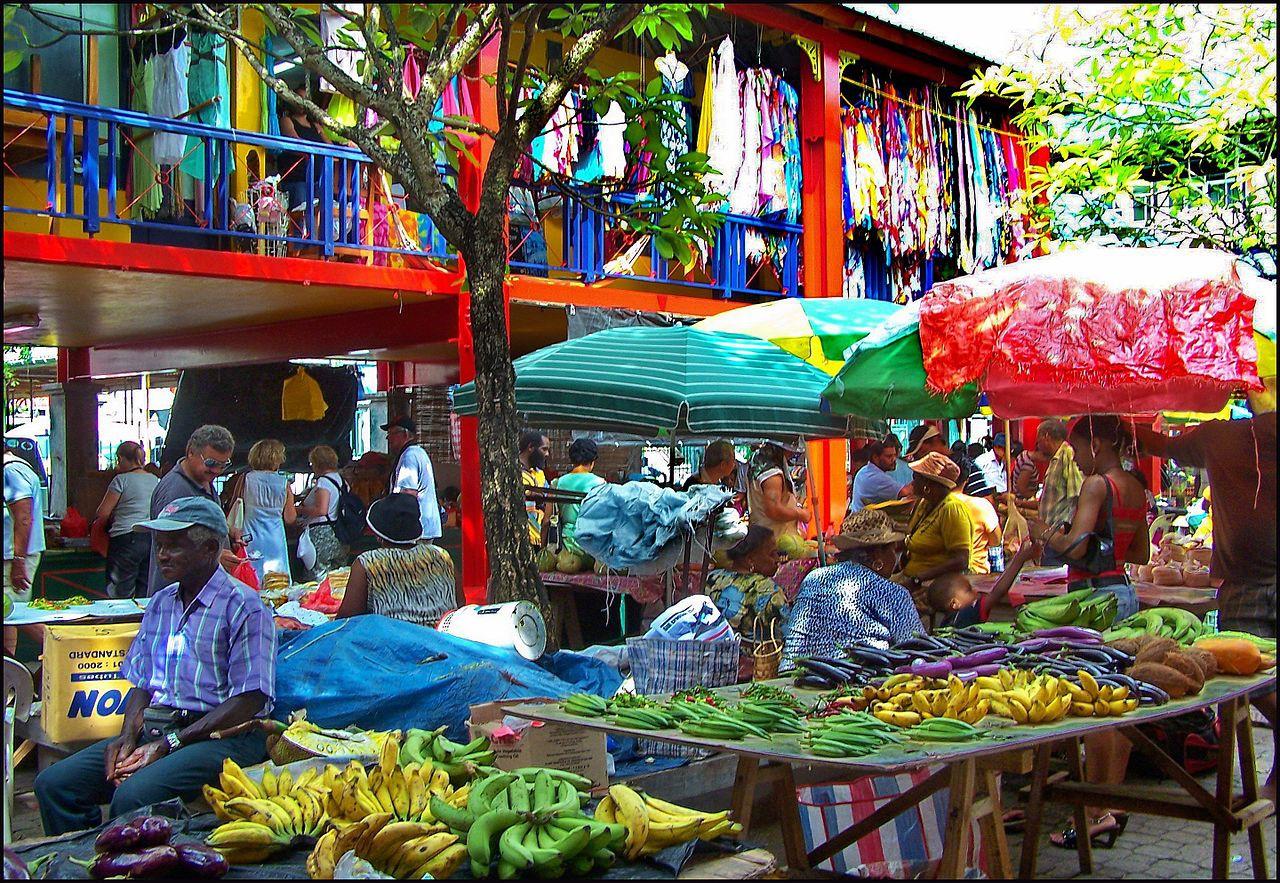 The Victoria Market