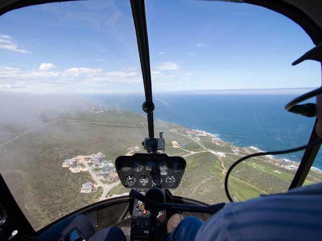 Scenic flights over Mossel Bay Area