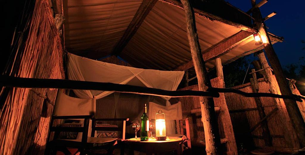 03 Days Island Bush Camp Safari